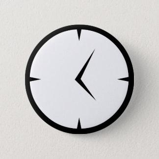 Newskoo tar tid på emblem standard knapp rund 5.7 cm