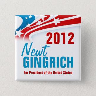 Newt Gingich Standard Kanpp Fyrkantig 5.1 Cm
