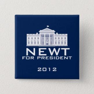 Newt Gingrich 2012 Standard Kanpp Fyrkantig 5.1 Cm