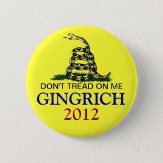 Newt Gingrich 2012 Standard Knapp Rund 5.7 Cm
