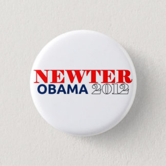 Newter Obama 2012 Mini Knapp Rund 3.2 Cm