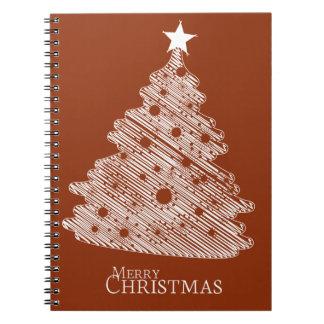 newyear god jul och lycklig anteckningsbok med spiral
