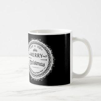 newyear god jul och lycklig kaffemugg