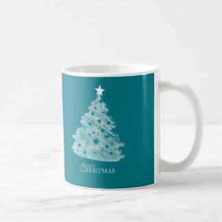 newyear god jul och lycklig vit mugg