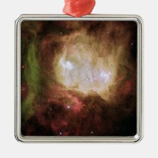 NGC 2080 spökehuvudnebulaen Julgransprydnad Metall