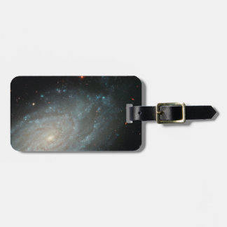 NGC 3370, djupt utrymme, spiral galax Bagagebricka