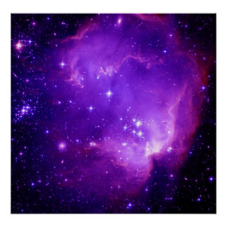 NGC 602 det okända Posters