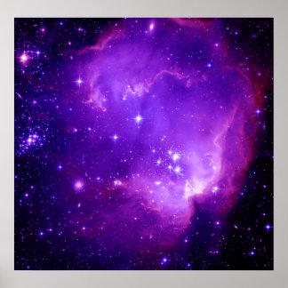 NGC 602 & det okända Poster