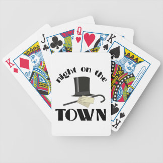 Nght Town Spelkort
