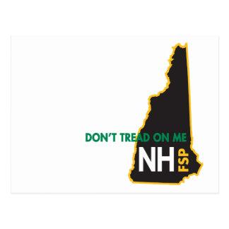 NH går inte på mig vykortet Vykort