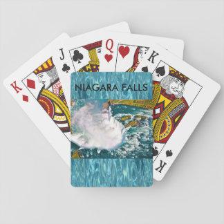 Niagara Falls däck av att leka kort Casinokort