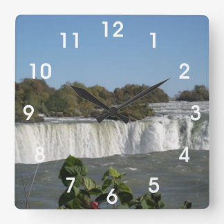 Niagara Falls Fyrkantig Klocka