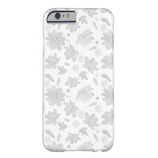 Nice blommar den ljusa vattenfärgen fodral barely there iPhone 6 skal
