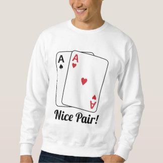 Nice parar lång ärmad tröja