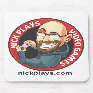 Nick leker videospel Mousepad Musmatta