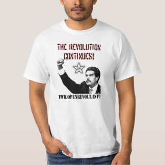 Nicolas Maduro: Revolutionen fortsätter! Tshirts