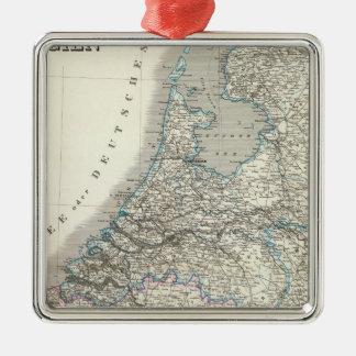 Niederlande Belgien - Nederländerna, Belgien Julgransprydnad Metall