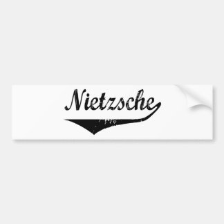 Nietzsche Bildekal