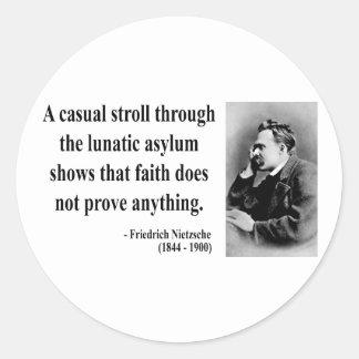 Nietzsche citationstecken 1b runt klistermärke
