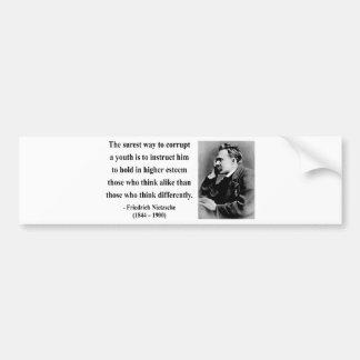 Nietzsche citationstecken 2b bildekal