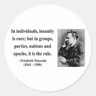 Nietzsche citationstecken 3b runt klistermärke