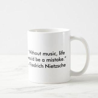 Nietzsche citationsteckenmugg kaffemugg