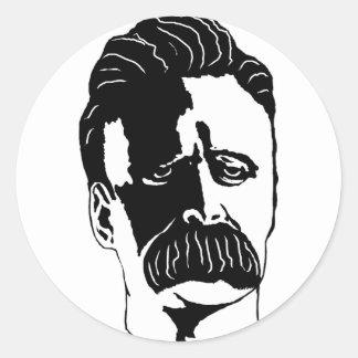 Nietzsche Runt Klistermärke
