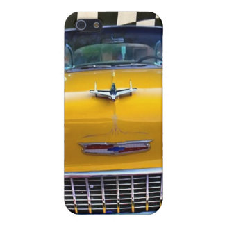 Nifty femtiotal i gult iPhone 5 cover