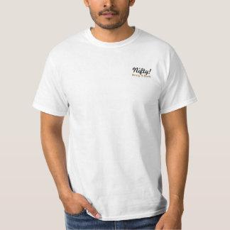 Nifty! Komma med det baksida T Shirts