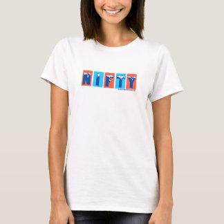 Nifty logotyp T T-shirt