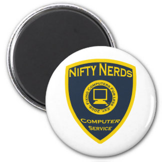 Nifty Nerds Magnet Rund 5.7 Cm