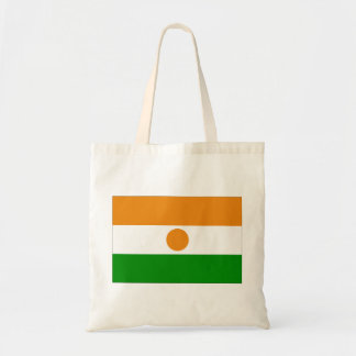 Niger flagga budget tygkasse
