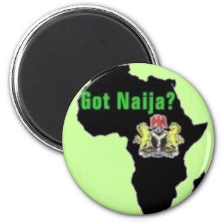 Nigeria, afrikaT-tröja och etc. Magnet