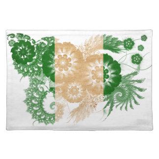 Nigeria flagga bordstablett
