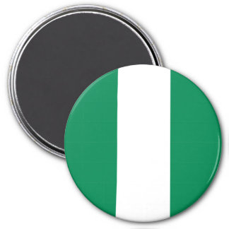 Nigeria flagga magnet