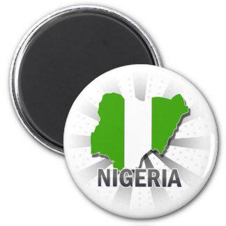 Nigeria flaggakarta 2,0 magnet