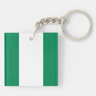 Nigeria nyckelring