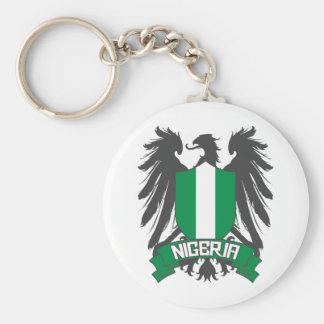 Nigeria påskyndade rund nyckelring