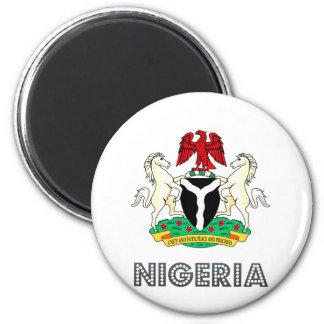 Nigeria vapensköld magnet