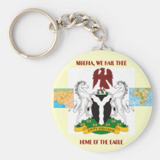 Nigeriaarms21 mnigeria, mapafrica, NIGERIA, OSS… Rund Nyckelring