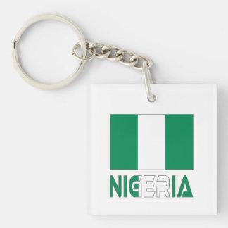 Nigeriansk flagga och Nigeria