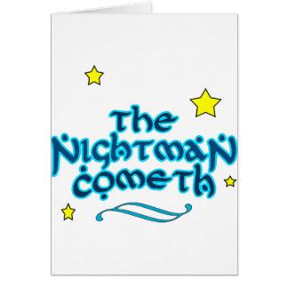 Nightmanen Cometh Hälsningskort