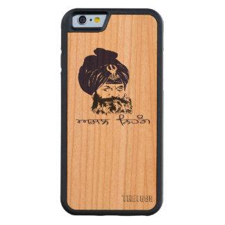 Nihung iphone case iPhone 6 bumper fodral i körsbärsträ
