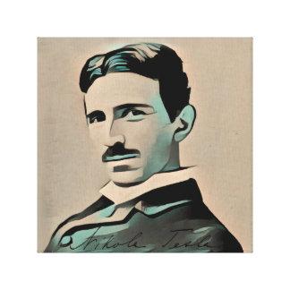 Nikola Tesla Canvastryck
