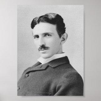 Nikola Tesla - Circa 1890 Poster