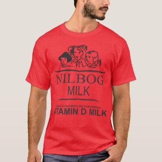 NILBOG-mjölkskjorta (den speciella röda T Shirts