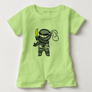 Ninja bebisromper t shirt