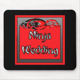 Ninja bröllop musmatta