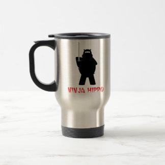 Ninja flodhästtravel mug resemugg