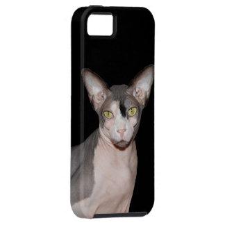 Ninja för katt för iPhoneVibefodral | Sphynx svart iPhone 5 Case-Mate Skal